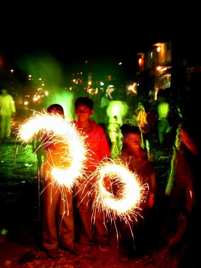 kolorowe diwali fotografia stock