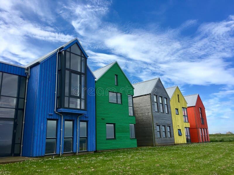 kolorowe domów zdjęcia stock