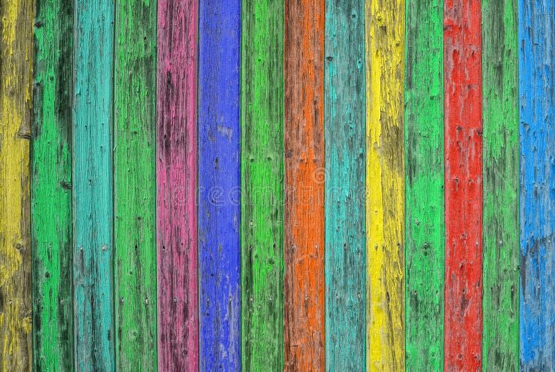 Download Kolorowe Drewniane Płytki Barwiony Drewniany Tło Podławy Modny Tekst Zdjęcie Stock - Obraz złożonej z wzór, stary: 57673156
