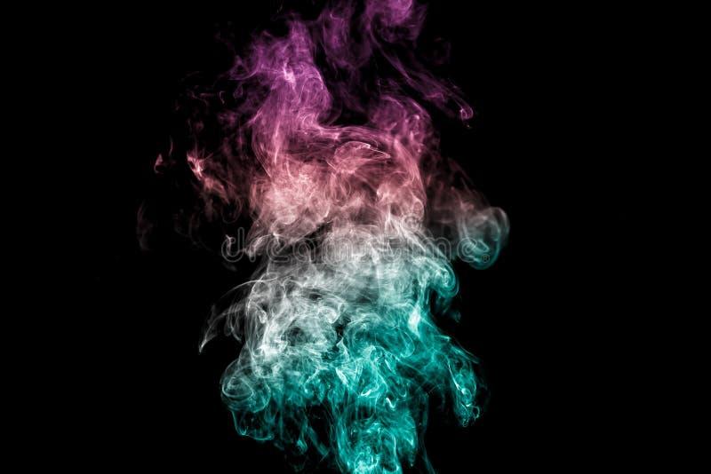 kolorowe dym abstrakcyjne obrazy royalty free