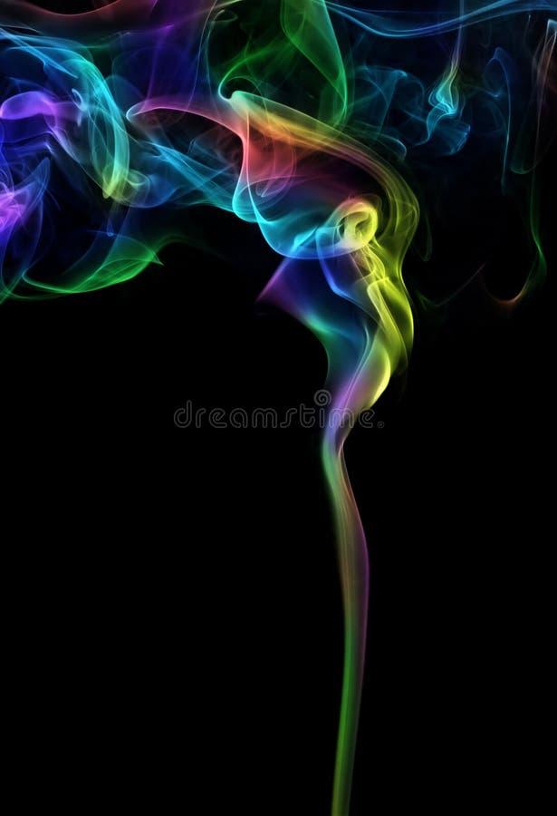 kolorowe dymu obraz royalty free