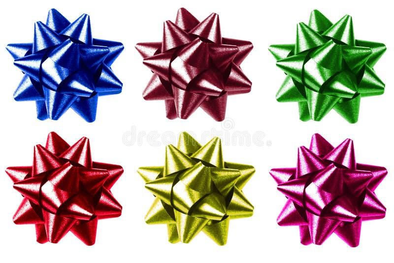 kolorowe dziobu prezent obrazy royalty free
