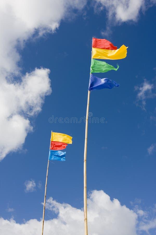 kolorowe flagę obrazy royalty free