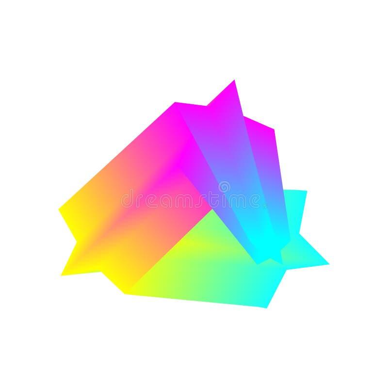 kolorowe geometrycznego t?a E Eps10 Wektor nowo?ytny projekta element royalty ilustracja