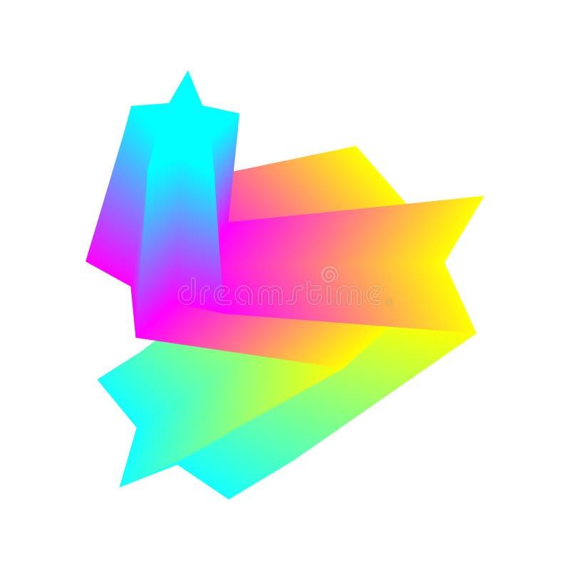 kolorowe geometrycznego t?a Fluidu falowy skład Eps10 Wektor nowo?ytny projekta element ilustracji
