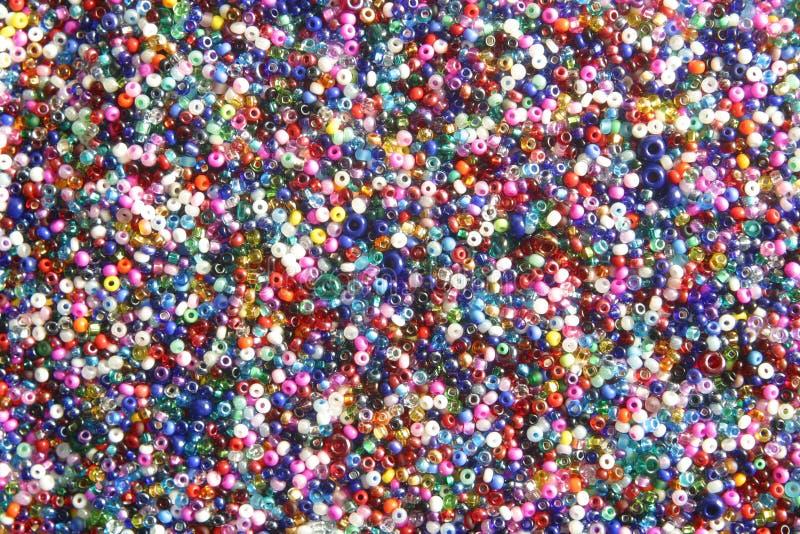 kolorowe koralików wielo- nasion fotografia royalty free