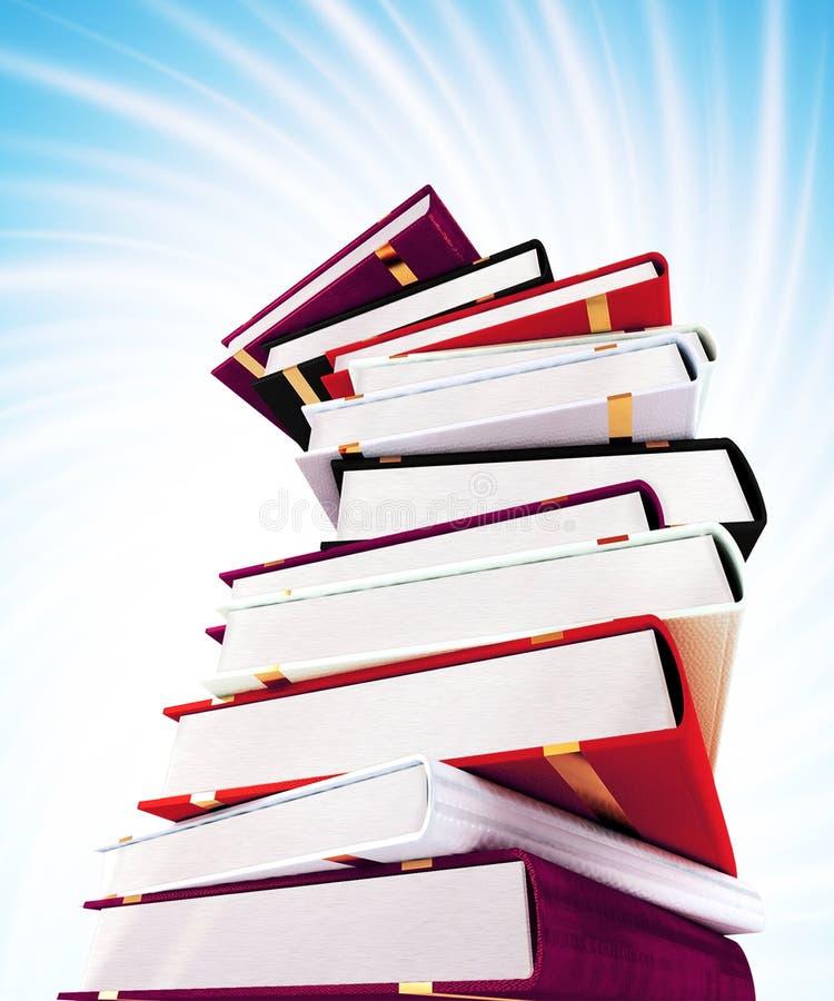 kolorowe książki tło zdjęcia royalty free