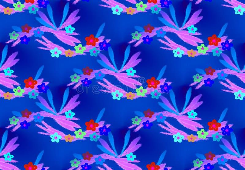 kolorowe kwiecisty tła obraz royalty free
