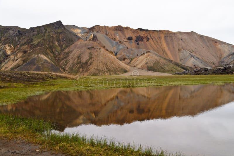 kolorowe landmannalaugar góry obrazy stock
