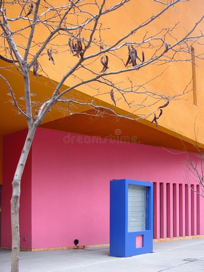 Download Kolorowe miasta obraz stock. Obraz złożonej z błękitny, ulica - 26443