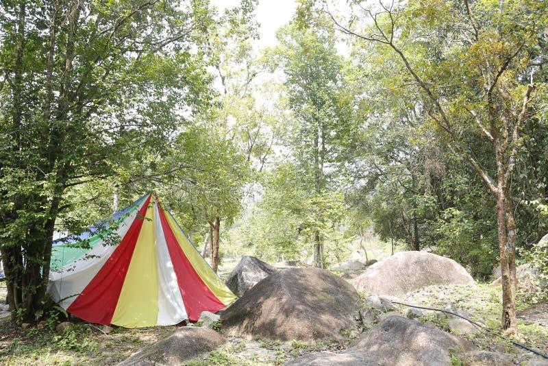 kolorowe namiot zdjęcie royalty free