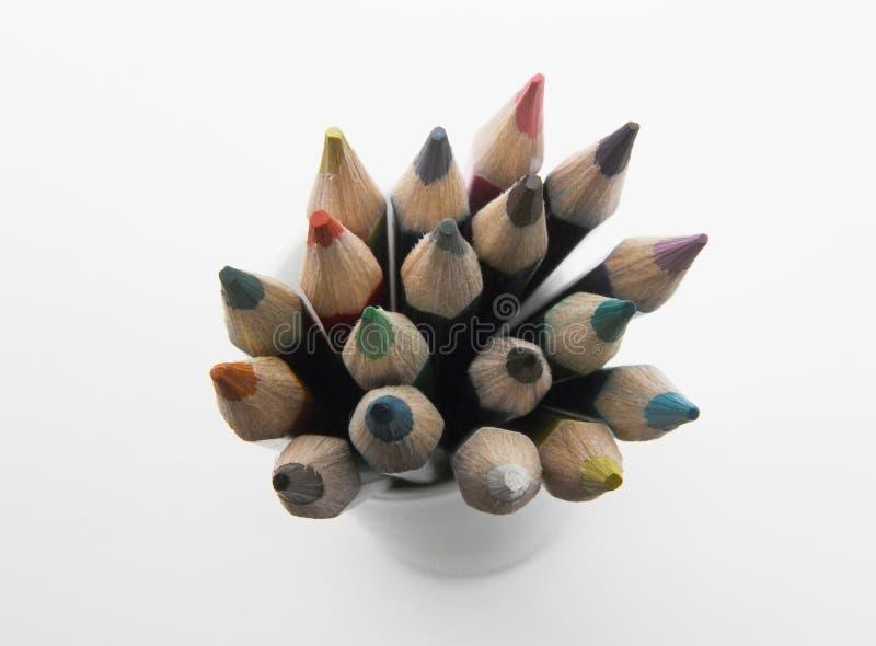 kolorowe ołówek obraz stock