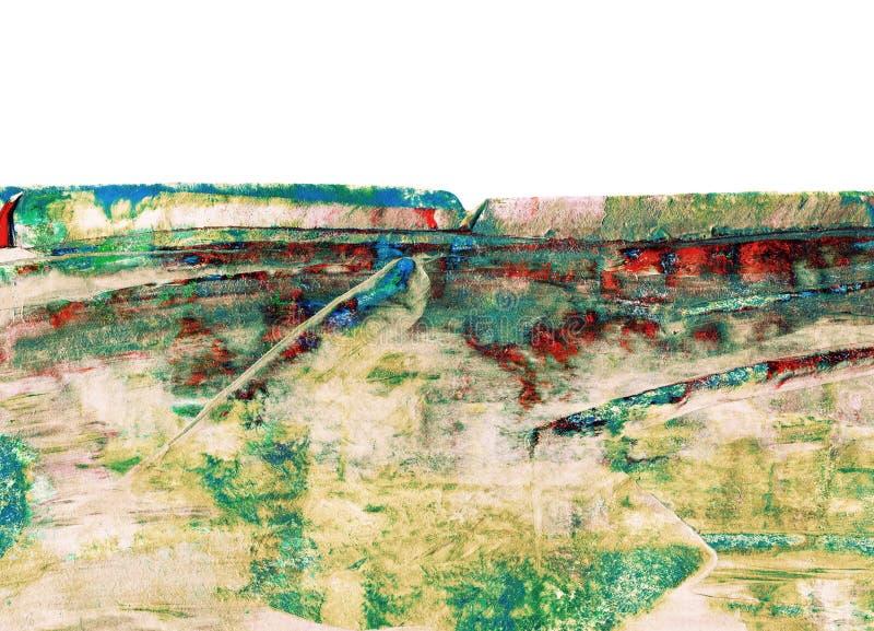 kolorowe obraz abstrakcyjne ilustracja wektor
