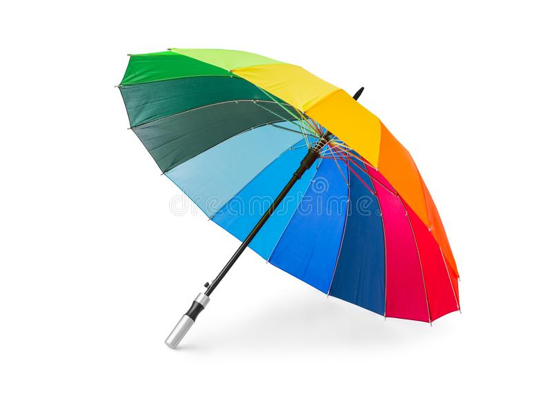 kolorowe parasolkę obraz stock