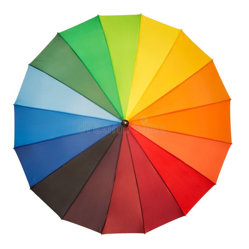 kolorowe parasolkę fotografia royalty free