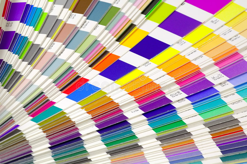 kolorowe próbki zdjęcie stock