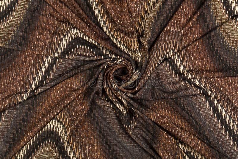 Kolorowe pstrobarwne tkaniny fotografia royalty free