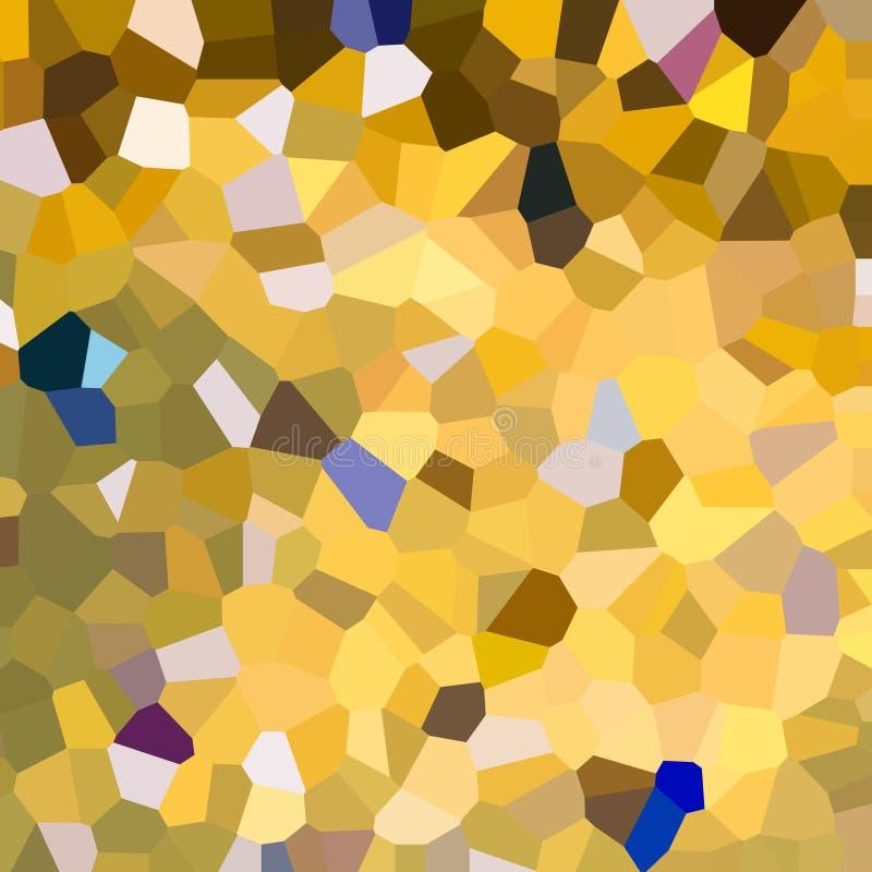 kolorowe schematu Mozaika geometryczni kształty Barwioni wieloboki abstrakcyjny tło royalty ilustracja