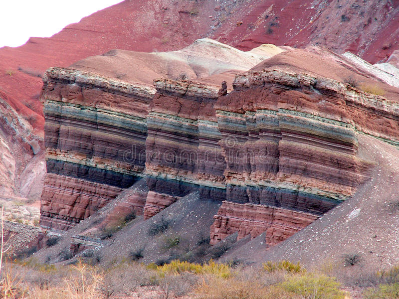 kolorowe skały zdjęcia stock