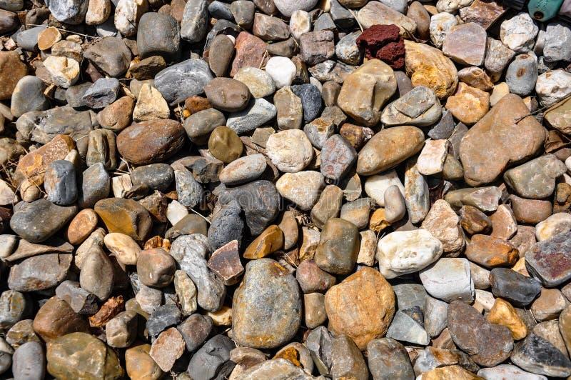 Kolorowe skały jako tło zdjęcie stock