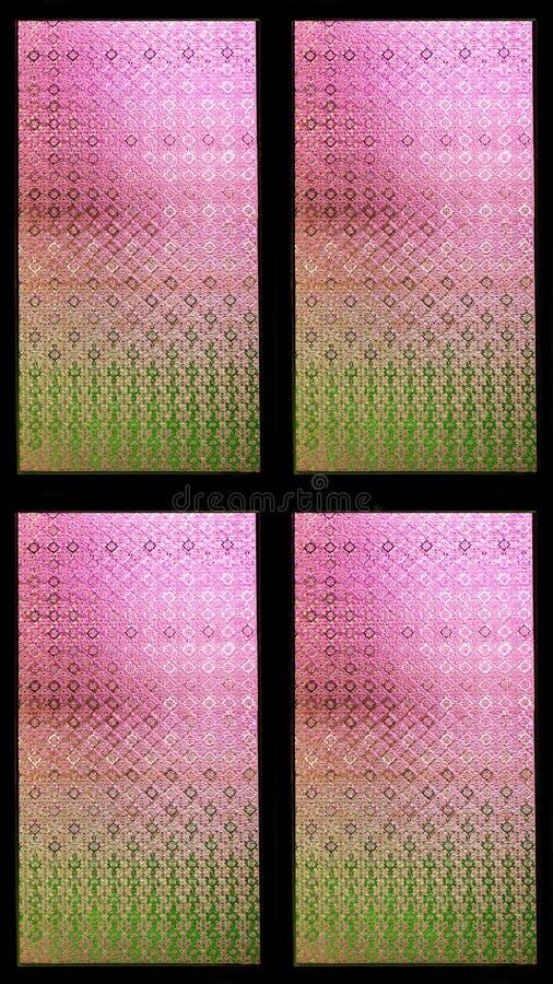 kolorowe szkło oznaczane fotografia royalty free