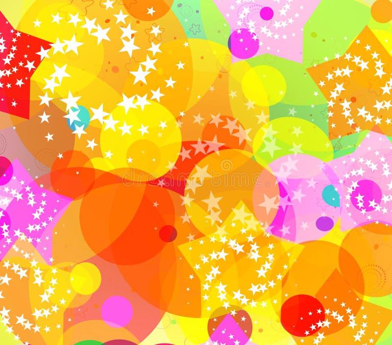 kolorowe tła abstrakcyjne ilustracji
