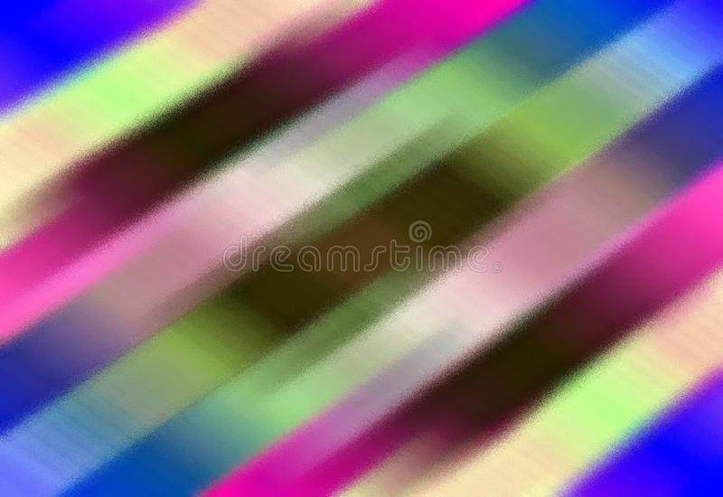 kolorowe tła abstrakcyjne Unikalny wzór od lampasów royalty ilustracja