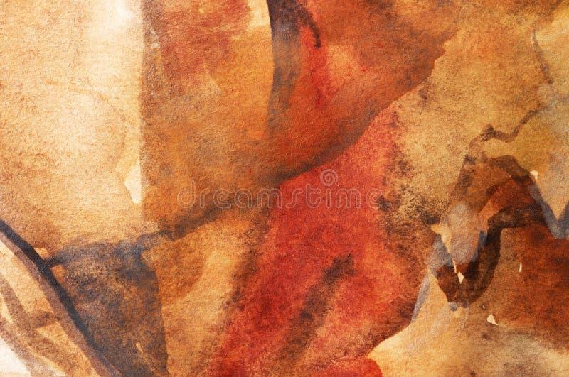 kolorowe tła ciepłą wodę ilustracja wektor