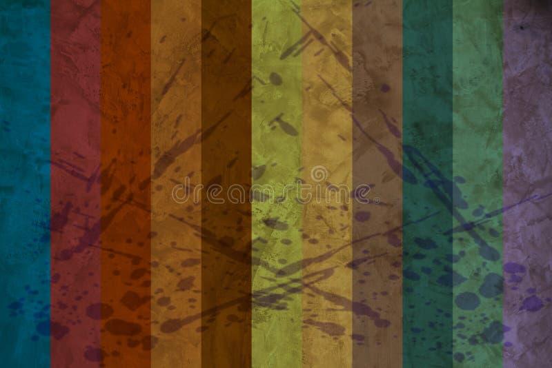 kolorowe tła crunch ilustracji