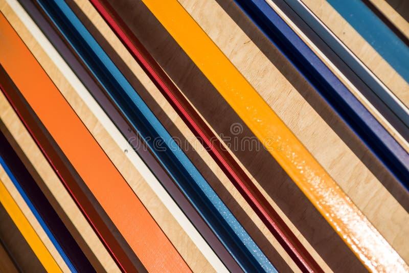 kolorowe tła goły Przekątna lampasów wzór Abstrakt fotografia royalty free