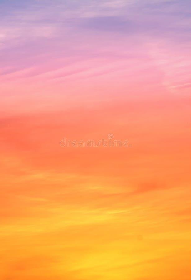 kolorowe tła niebo fotografia royalty free