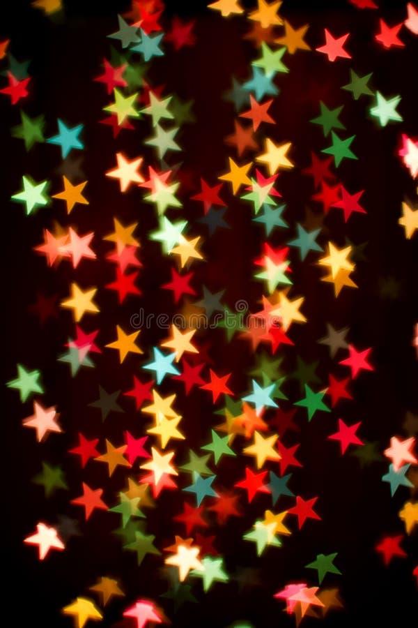 kolorowe tło gwiazdy obrazy stock