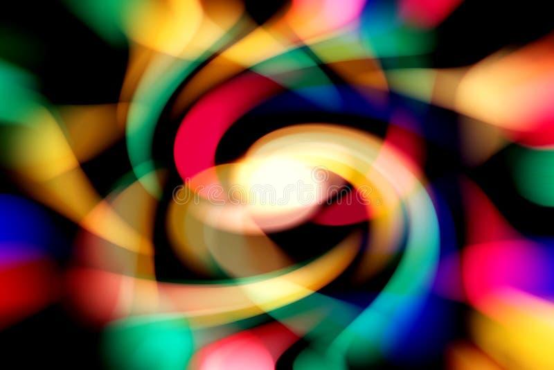 kolorowe tło Stubarwny tło Barwione linie w ruchu, kopii przestrzeń fotografia stock