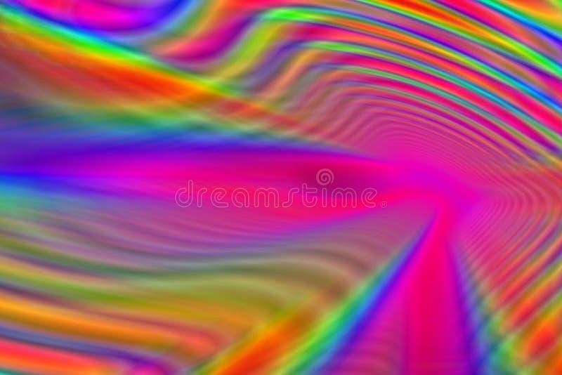 kolorowe tunelu ilustracji