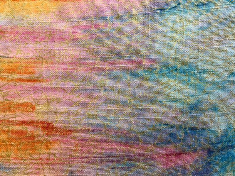 Kolorowe ubraniowe tekstury i tło zdjęcia stock