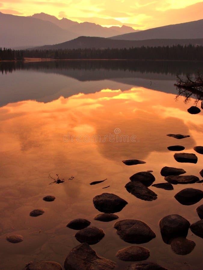 kolorowe wschód słońca zdjęcia royalty free
