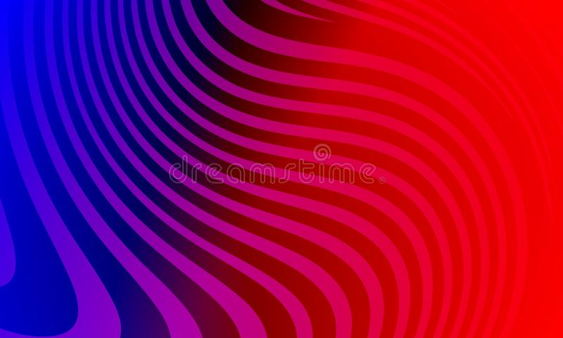 Kolorowego abstrakcjonistycznego tła wektorowy projekt, kolorowy ocieniony tło, żywa koloru wektoru ilustracja ?rodowisko ilustracji