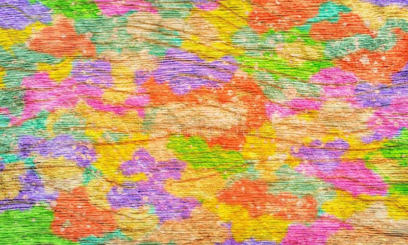 Kolorowego grunge ściany sztuki projekta tekstury nieociosana zabawa i chłodno tapetowy tło zdjęcie royalty free