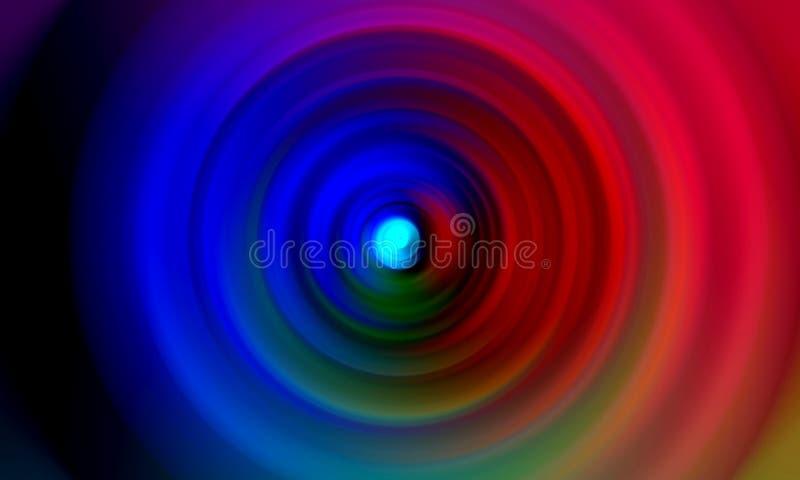 Kolorowego ocienionego plamy abstrakcjonistycznego tła wektorowy projekt, kolorowy zamazany ocieniony tło, żywa koloru wektoru il fotografia royalty free