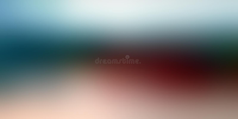Kolorowego plamy abstrakcjonistycznego tła wektorowy projekt, kolorowy zamazany ocieniony tło, żywa koloru wektoru ilustracja zdjęcia stock