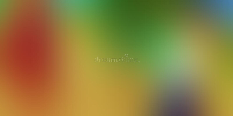 Kolorowego plamy abstrakcjonistycznego tła wektorowy projekt, kolorowy zamazany ocieniony tło, żywa koloru wektoru ilustracja zdjęcie stock