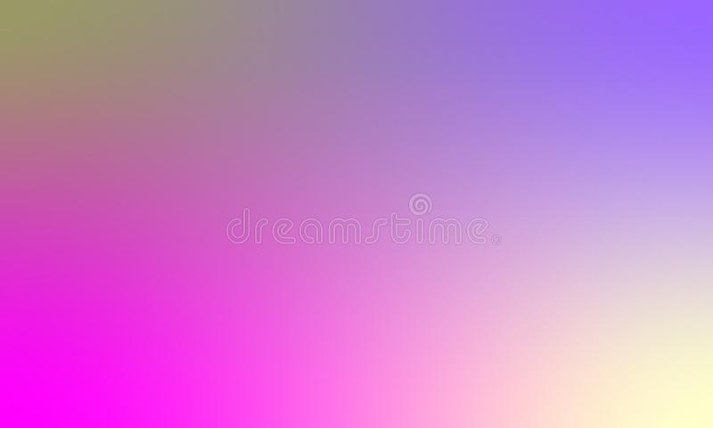 Kolorowego plamy tekstury tła wektorowy projekt, kolorowy zamazany ocieniony tło, żywa koloru wektoru ilustracja Zbliżenie, bac ilustracji