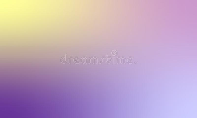 Kolorowego plamy tekstury tła wektorowy projekt, kolorowy zamazany ocieniony tło, żywa koloru wektoru ilustracja Zbliżenie, bac royalty ilustracja