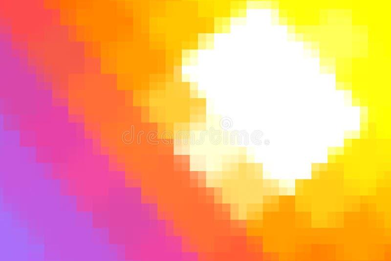 kolorowego rozsypiska zmierzchu czerwona pomara?czowa chmura i s?o?ce na niebie ilustracji