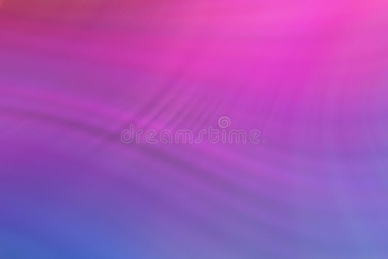 Kolorowego tła gładkie faliste linie Multicolour wyginający się i prości kształty royalty ilustracja