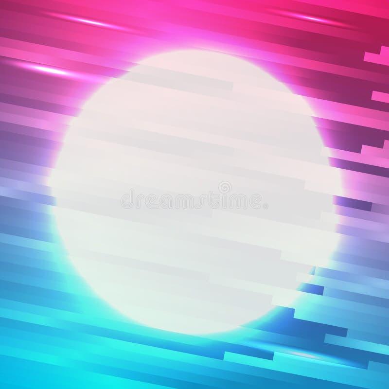 Kolorowego tła koloru linii abstrakcjonistyczny wektor ilustracja wektor