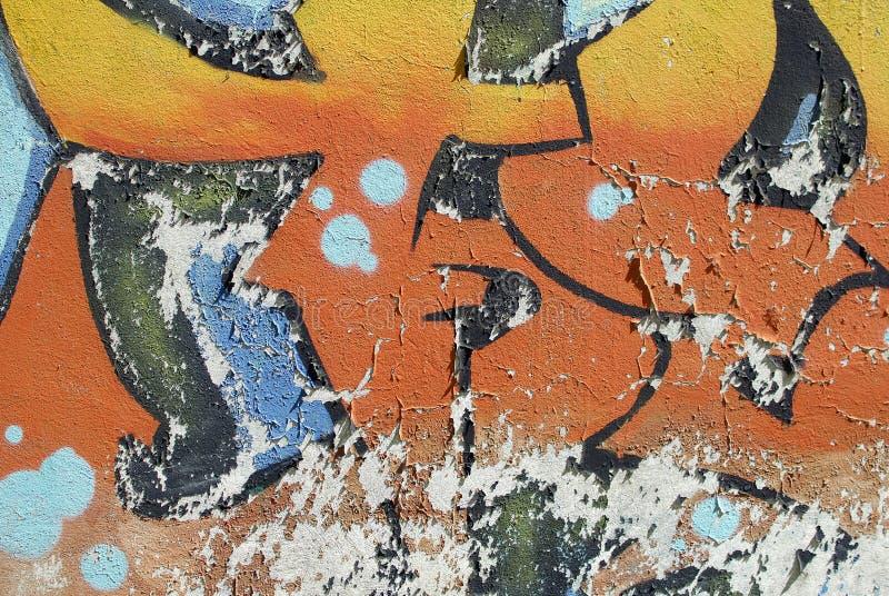 Kolorowego zakończenia tynku ściany up tekstura dla tło i ciekawych tekstur zdjęcie royalty free