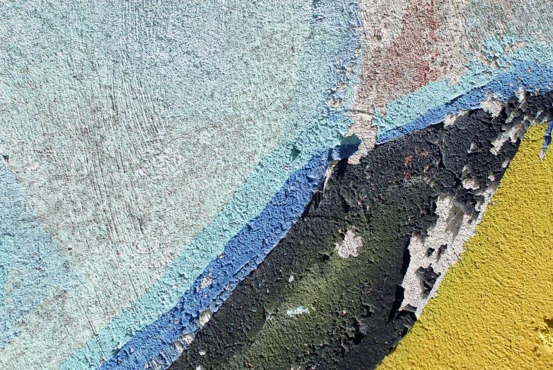 Kolorowego zakończenia tynku ściany up tekstura dla tło i ciekawych tekstur obraz stock