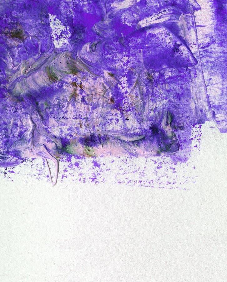 Kolorowej akwareli akrylowy obraz z muśnięciem dalej zdjęcie royalty free
