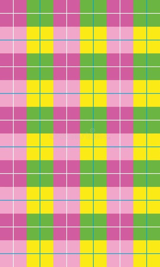 Kolorowej mozaiki geometryczny tło royalty ilustracja